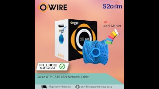 Owire CAT6 23Awg Solid Full Co…