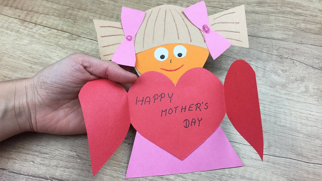 Handcraft greetings card for Mother's day