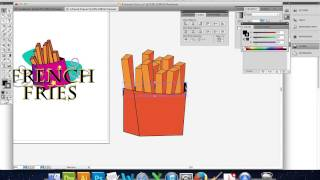 Illustrator_ french fries
