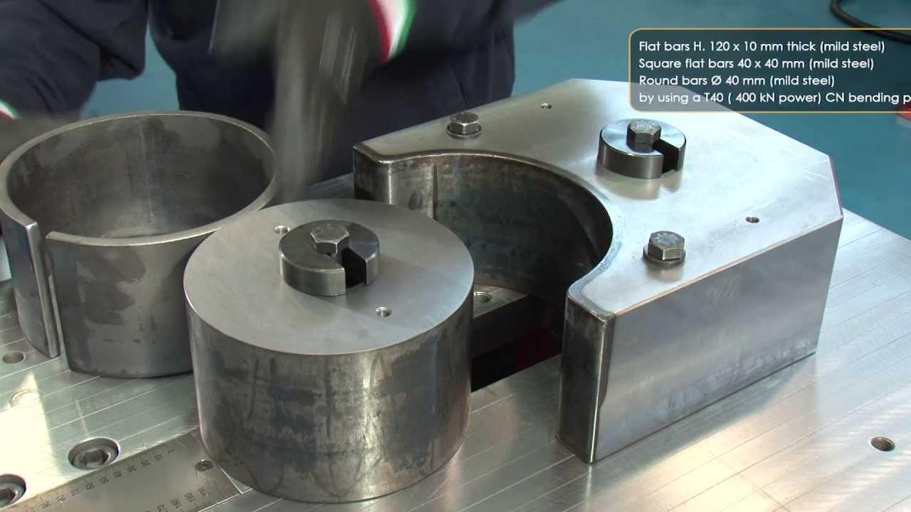 Ring Shaping Of Flat Bars With Simasv Horizontal Press