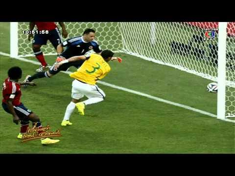เรื่องเล่าเสาร์-อาทิตย์ บราซิล เฉือนชนะ โคลอมเบีย 2-1 ทำ เนย์มาร์ เจ็บโบกมือลาบอลโลก  (5 ก.ค. 57)