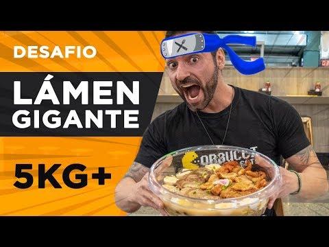 Desafio do Lámen Gigante!! (5kg+)