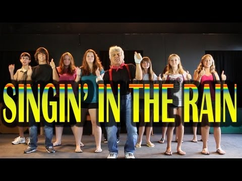 SINGING IN THE RAIN - Kids Version - Children's Songs by The Learning Station