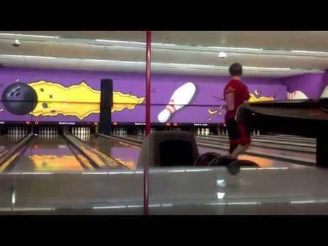 Me and my Little Bro bowling in Panama City!
