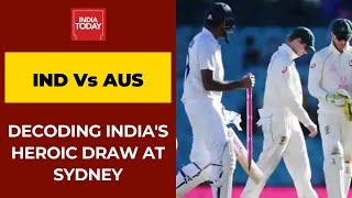 <b>India vs Australia</b> 3rd Test: Decoding India's Heroic Draw In Sydney