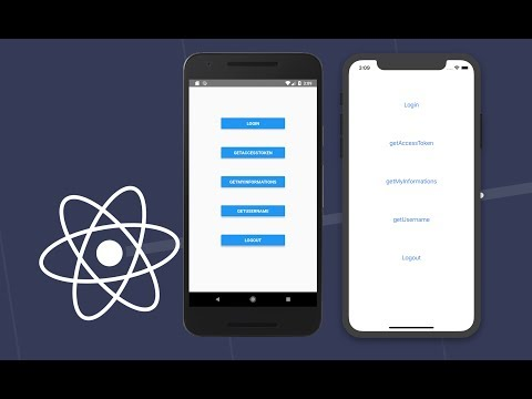 React Native - Facebook Login Without any SDK on Android, IOS thumbnail
