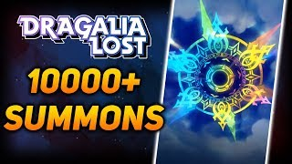 10000+ DIAMANTIUM/WYRMITE SUMMONS! Dragalia Lost FIRST Summon Video!