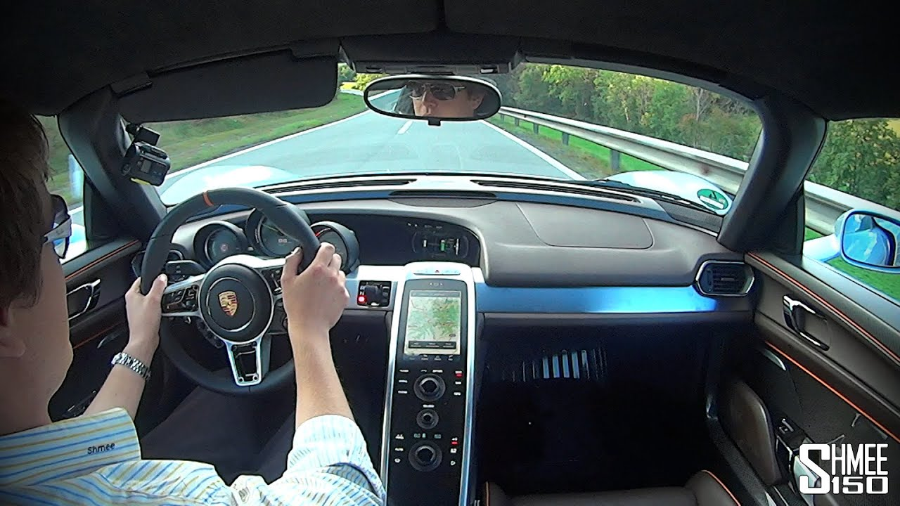 porsche 918 spyder driving impressions and e mode youtube