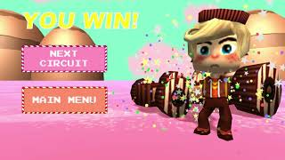 Sugar Rush Superraceway gameplay with each character