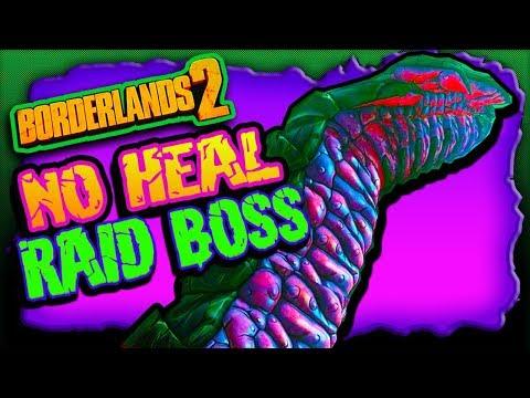 "How to keep ""Haderax"" from HEALING (Raid Boss Fight) Borderlands 2 NEW DLC"