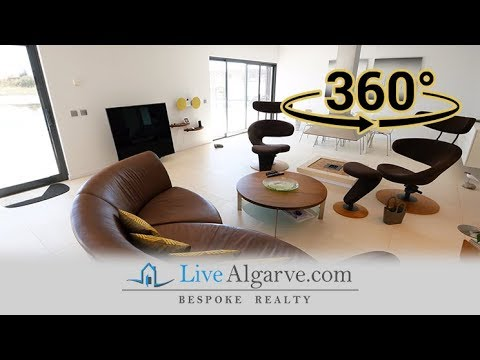 360º Video Tour - Luxury Villa with Sea View in Meia Praia, Lagos