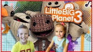Live Stream LittleBigPlanet™ 3 PS4 | #6 АКАДЕМЯ ГОЛОВОЛОМОК #PS4 #LittleBigPlanet3