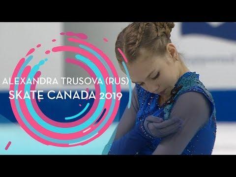 Alexandra Trusova (RUS)   1st place Ladies   Free Skating   Skate Canada 2019   #GPFigure