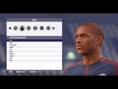 FIFA18 Pro Clubs Game Face Kylian Mbappe Look Alike