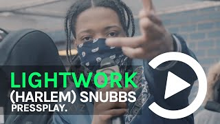 (Harlem) Snubbs - Lightwork Freestyle #NewYork 🇺🇸 | Pressplay
