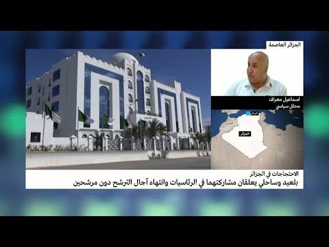 الجزائر: انتهاء مهلة تقديم الترشيحات للانتخابات الرئاسية بإيداع ملفين لمترشحين اثنين  - نشر قبل 34 دقيقة