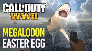 COD WW2: MEGALODON EASTER EGG! GIANT SHARK!