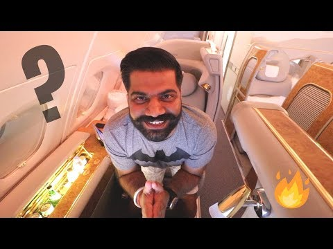 EMIRATES $22,000 FIRST CLASS SEAT - My Costliest Flight Ever