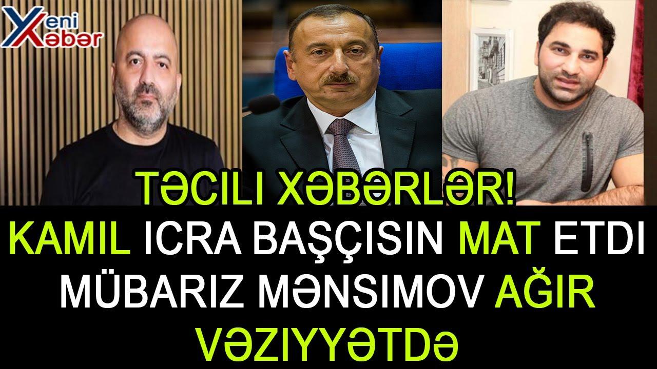 TƏCİLİ: İlham Əliyev, Kamil Zeynallı, Mübariz Mansimov