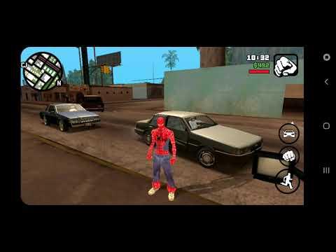 Мод на человека паука в GTA:San andreas