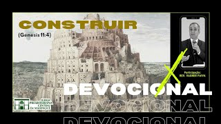 Devocional | CONSTRUIR | 15/12/2020
