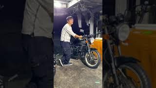 RZ250という古いバイクの排気音比較