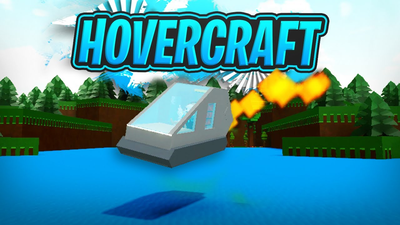 SPEED HOVERCRAFT!!!! (Adjustable Height!!) - Build a Boat For Treasure