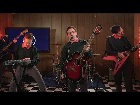 "Ned Flanders band Okilly Dokilly performs ""Godspeed Little Doodle"" in The A.V. Club studio"