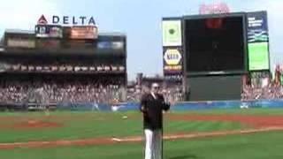 Mike Geier Sings National Anthem