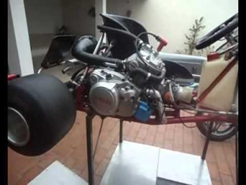 Motor Dt 200 Invertido Kart 47 Carlinhos 1mp4 Youtube
