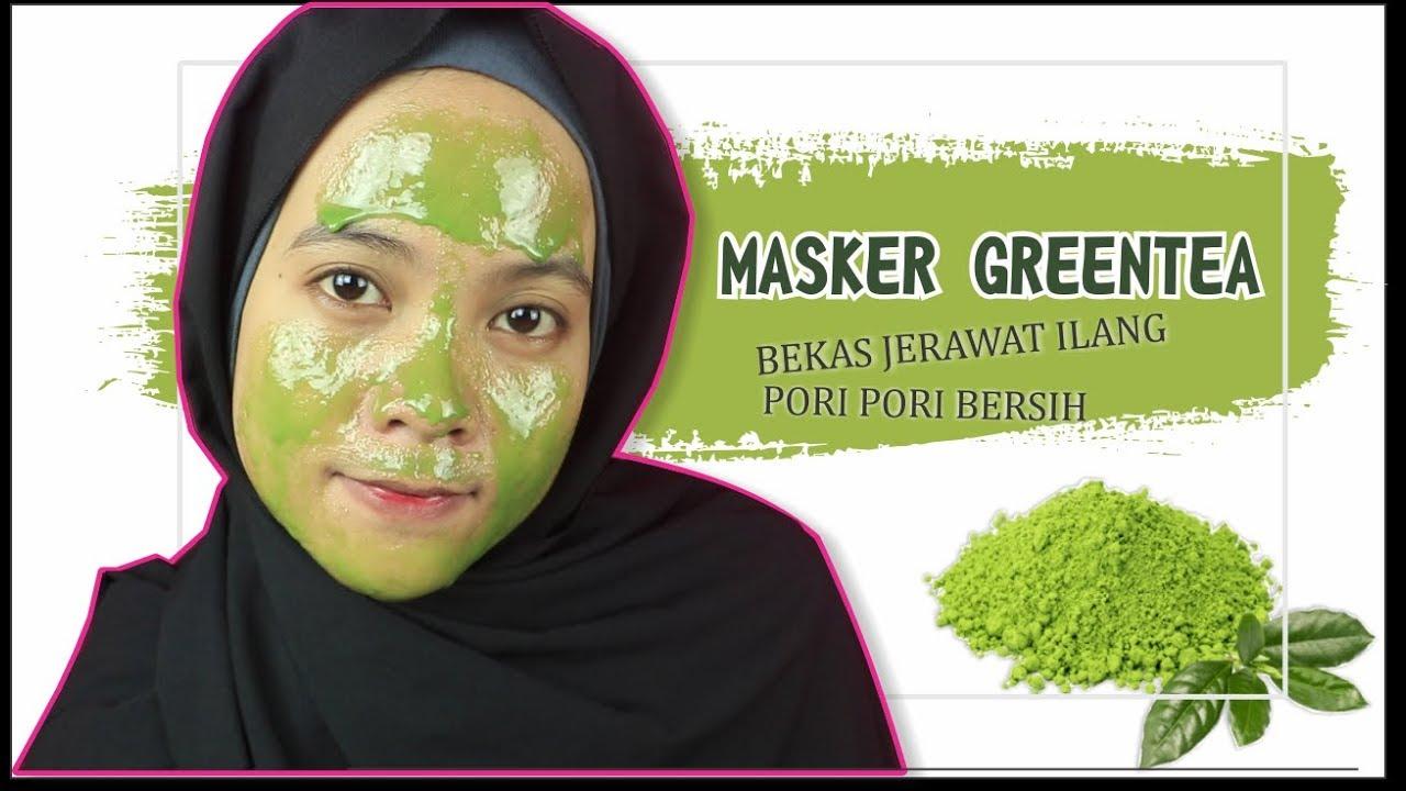 Cara Memutihkan Wajah Dengan Masker Teh Hijau Matcha Green Tea Youtube