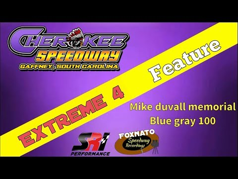 11/18/17 Extreme 4 feature At Cherokee speedway