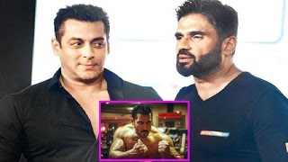 Suniel Shetty Praises Salman Khan Body & Fitness