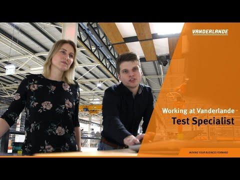 Working as a Test Specialist at Vanderlande