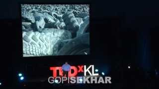 Sustainable rubber recycling, a global story | Gopi Sekhar | TEDxKL