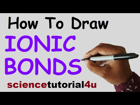 How To Draw IONIC BONDING Of NaCl And MgO