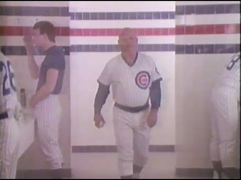 1988 CHICAGO CUBS Manager DON ZIMMER ad for Lincoln Savings & Loan