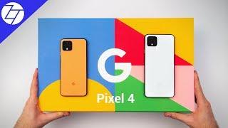 Google Pixel 4 & Pixel 4 XL - UNBOXING & Impressions!