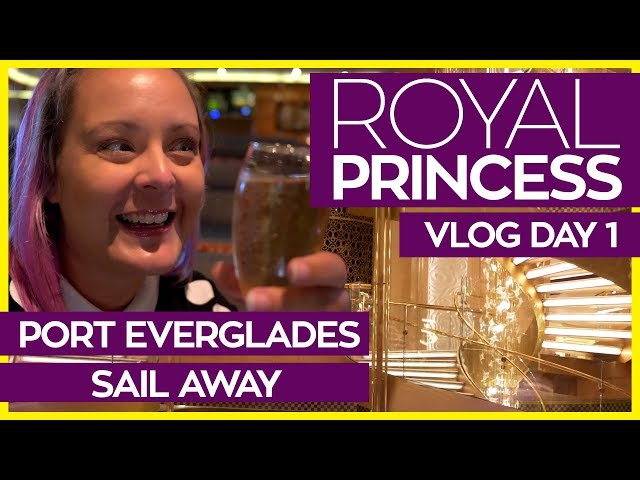Royal Princess | Boarding, Cabin Tour and Symphony MDR  | Cruise Vlog Day 01