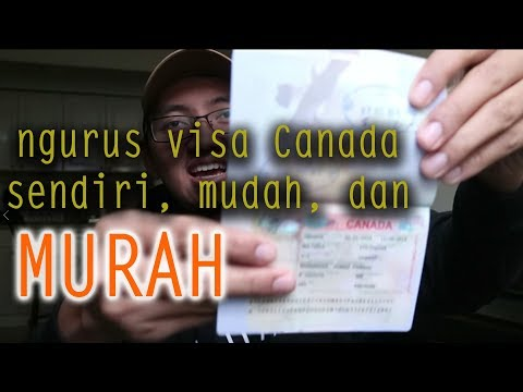 TUTORIAL CARA MENGURUS DAN PERPANJANG VISA DI CANADA