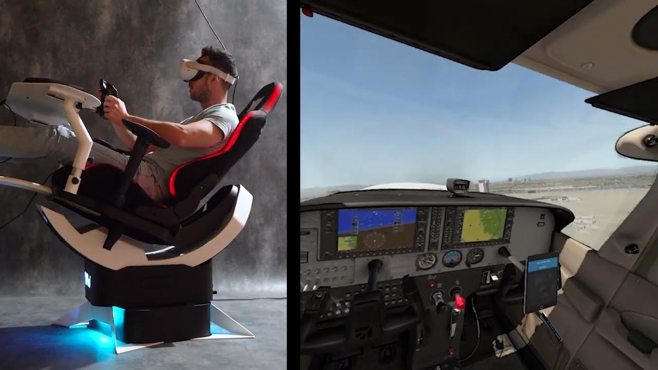 Yaw2 test flight with XPlane11