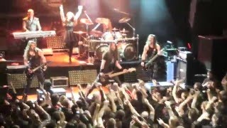 Epica @ Irving Plaza 1-21-2016 Clip of Last 3 Songs of the Show. Also crowd-surfing.