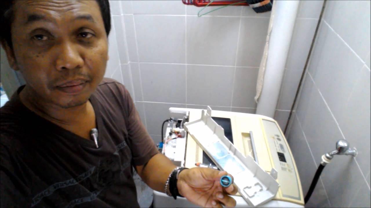 Membaiki Mesin Basuh Repair Washing Machine Diy With Subtittles Toshiba Wiring Diagram