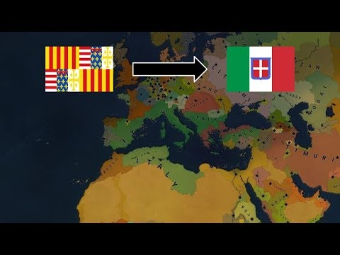 Age Of Civilizations II Timelapse -  Naples to Italy