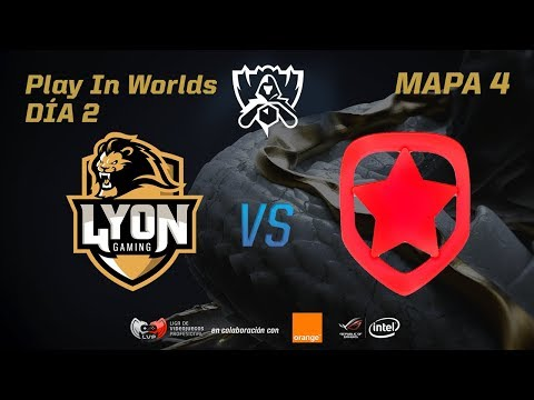 LYON GAMING VS GAMBIT - LOL WORLDS 2017 - DÍA 2 - PLAY IN