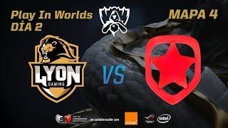 LYON GAMING VS GAMBIT - LOL WORLDS 2017 - DÍA 2 - PLAY IN