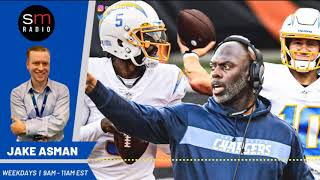 Anthony Lynn is playing a dangerous game with Justin Herbert