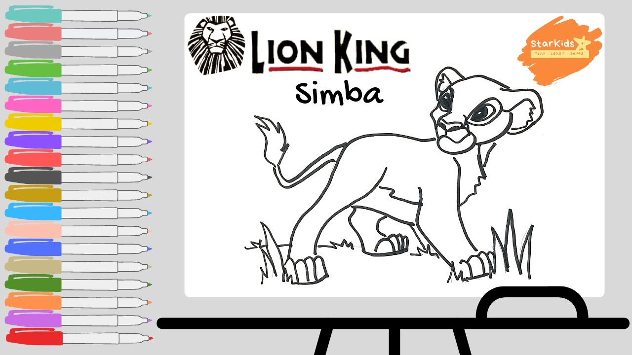 The Lion King coloring pages on Coloring-Book.info   720x1280