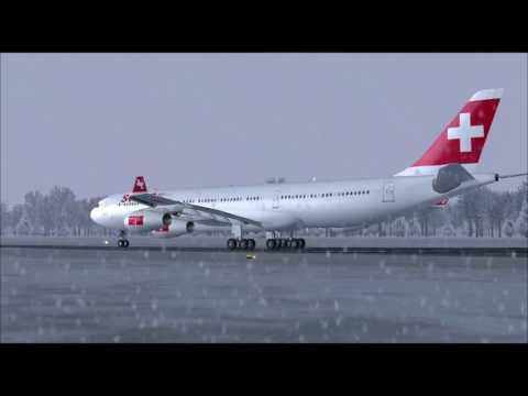 A340 300 SWISS ,Zurich