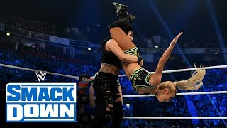 Carmella & Dana Brooke vs. Fire & Desire: SmackDown, Nov. 8, 2019